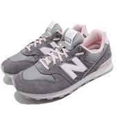 New Balance 復古慢跑鞋 NB 996 灰 粉紅 麂皮 寬楦頭 運動鞋 女鞋【ACS】 WR996ACGD