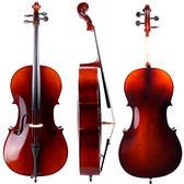 ★JYC MUSIC★嚴選入門JYC JV-103雲衫實木大提琴~全配套裝組