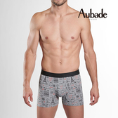 Aubade man-舒棉M-XL平口褲(巴黎鐵塔)