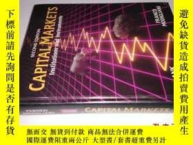 二手書博民逛書店SECOND罕見EDITION CAPITAL MARKETS