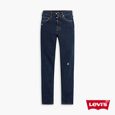 Levis 女款 501Skinny高腰排釦修身窄管牛仔長褲 / 微磨損破壞細節 / 有機面料 / 彈性布料