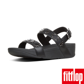 【FitFlop】LOTTIE CRESCENT STUD BACK-STRAP SANDALS(黑色)歡慶10周年!限時回饋66折