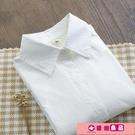 襯衫 春季新款純棉長袖白襯衫女裝學院風內搭打底衫襯衣上衣簡約職業裝 源治良品