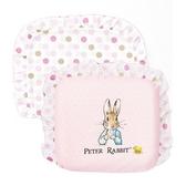 【奇哥】  花園比得兔乳膠圓型枕-粉紅 (附枕套)