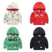 男童開衫外套新款韓版裝童裝兒童寶寶女童1歲3潮小童秋季