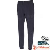 Wildland 荒野 0A71323-95鐵灰色 女彈性輕薄九分窄口褲 彈性延展/抗UV/輕薄透氣/吸濕快乾/休閒褲*