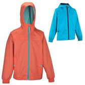 迪卡儂 QUECHUA兒童裝戶外運動沖鋒衣防風防雨水連帽外套夾克