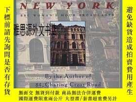 二手書博民逛書店【罕見】1993年出版 Letter From New York