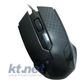 [鼎立資訊] M1黑鵰靜音遊戲光學鼠