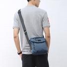 韓版休閒側背包斜背包防水尼龍小包包男士帆布牛津布背包 黛尼時尚精品