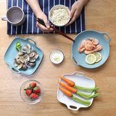 啞光雙耳陶瓷盤焗飯盤烤盤烘焙烤碗 早餐盤沙拉盤水果蛋糕盤 挪威森林