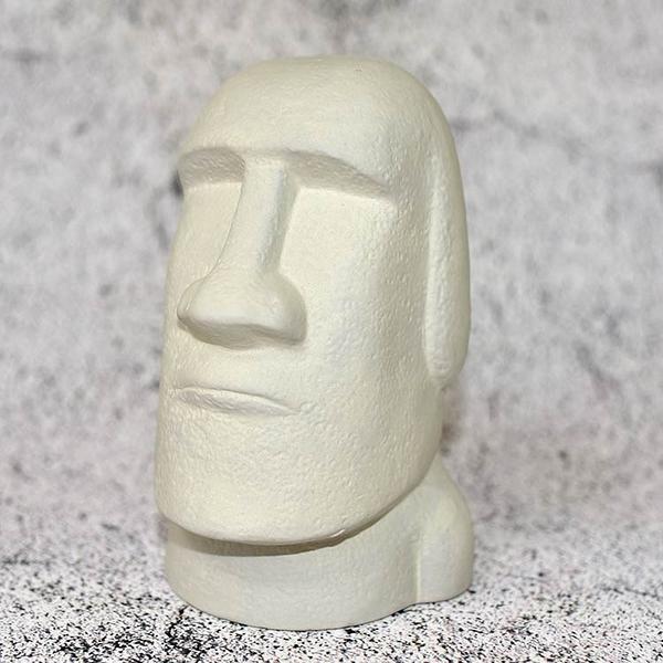 日本製 摩艾石像Moai 陶瓷 存錢箱 貯金箱 撲滿 擺飾 17cm