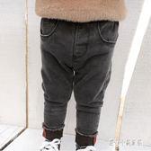 男童牛仔褲 兒童牛仔褲加絨加厚男冬男童保暖修身百搭褲子寶寶洋氣童裝 CP5806【甜心小妮童裝】
