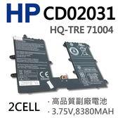 HP 2芯 CD02031 日系電芯 電池  HSTHN-L01B HSTHN-Q12C 733057-421 HQ-TRE 71004 8380mAh 3.7V
