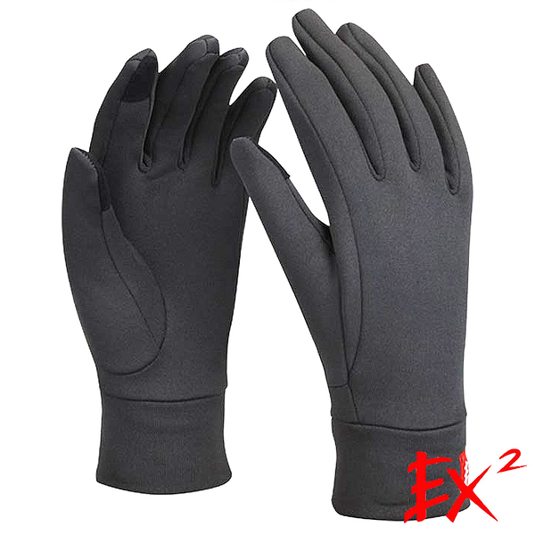 EX2 Polartec保暖手套『暗灰』861231 防風手套│保暖手套│防滑手套│刷毛手套