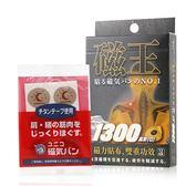 日本 磁王 1300高斯(G) 磁力貼 12粒裝【新高橋藥妝】