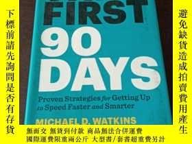 二手書博民逛書店The罕見First 90 Days: Proven Strategies for Getting Up to S