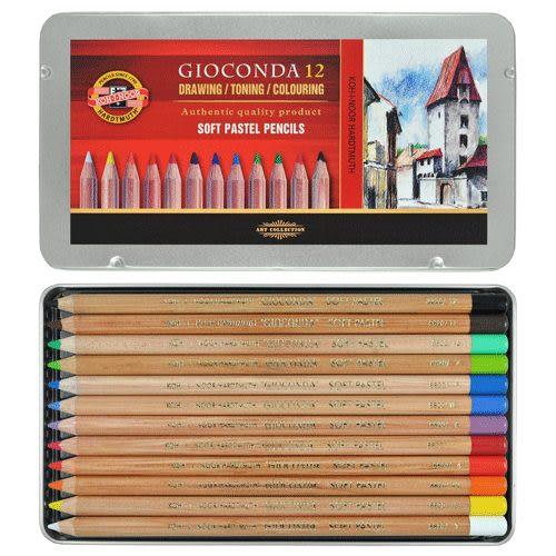 捷克製KOH-I-NOR 12C 專家級粉彩色鉛筆 *8828012