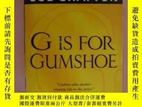 二手書博民逛書店G罕見Is for Gumshoe(稀有 )Y85718 Sue