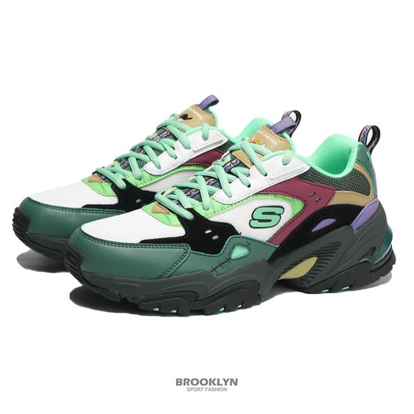 SKECHERS 休閒鞋 ONE PIECE 航海王 聯名款 索隆 STAMINA V2 男 (布魯克林) 894034BKMT