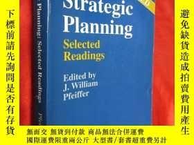 二手書博民逛書店Strategic罕見Planning;Selected Rea