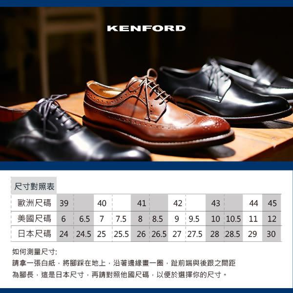 【KENFORD】裙飾質感孟克鞋 黑色 (KN23-BL)