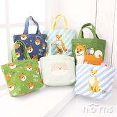 【日貨動物手提袋M號 柴犬P2】Norns 帆布袋 柴田先生  便當袋 購物袋 小托特包 帆布包