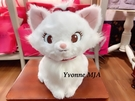 *Yvonne MJA* 日本迪士尼Disney限定正品 時尚 瑪麗貓 50 週年紀念版 絨毛娃娃