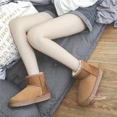 雪靴 雪地靴女冬季2019新款時尚東北百搭學生厚底短筒加絨加厚保暖棉鞋35-40碼 8色