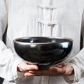 建盞茶洗大號陶瓷杯洗筆洗家用茶渣桶功夫茶具水盂缸