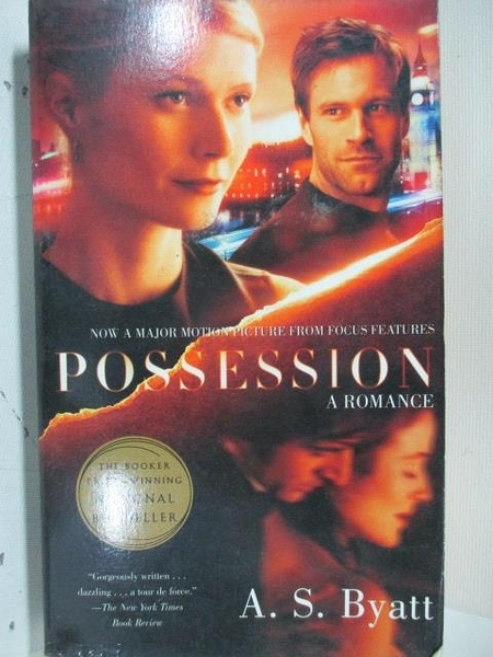 【書寶二手書T8/原文小說_ALZ】Possession_A.S.Byatt