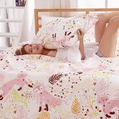 [SN]#U082#細磨毛天絲絨6x6.2尺雙人加大床包+枕套三件組-台灣製(不含被套)