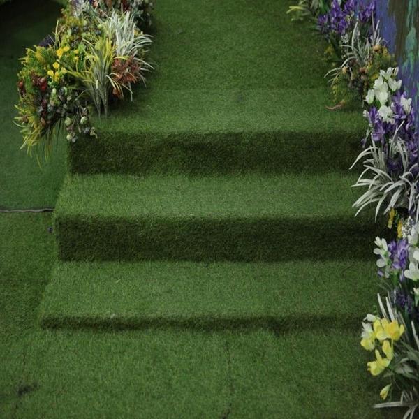 仿真草坪地毯戶外幼兒園人造草皮塑料人工假草陽台室內裝飾假綠植 夏季特惠