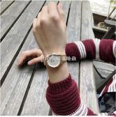 超薄手錶防水男時尚女新款學生韓版簡約休閒潮流鋼帶時裝情侶文藝  瑪奇哈朵