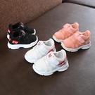 寶寶鞋子運動鞋男童女童春夏鞋軟底嬰兒學步鞋0-1-3-5歲帆布2網鞋