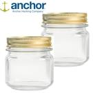 美國 Anchor MASON Jar梅森玻璃罐 236ml 二入組 A-10984-2