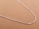 ☆§海洋盒子§☆ 40cm~16吋質感極細方格鍊.義大利純銀單鍊子《925純銀》