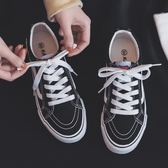 夏季男士休閒鞋韓版帆布鞋低筒學生板鞋百搭潮流布鞋ulzzang潮鞋 卡布奇诺