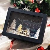 新年禮品盒禮物包裝盒立體木雕禮物盒子生日禮盒【聚可愛】