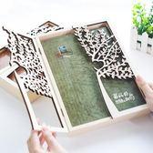 同學錄木盒創意小清新唯美復古初中生小學生女畢業留言紀念冊   薔薇時尚