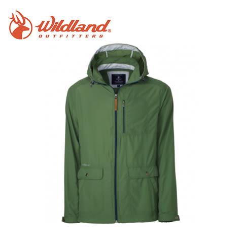 丹大戶外【Wildland】荒野 男SUPPLEX抗UV時尚外套 0A31908-05 灰綠色
