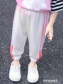 女童冰絲防蚊褲夏季薄款兒童裝運動休閒褲子小童燈籠褲女寶寶夏裝 多莉絲旗艦店