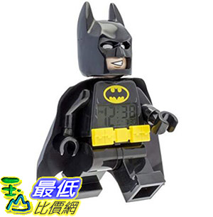 [8美國直購] 鬧鐘 LEGO 9009327 Batman Movie Batman Minifigure Light Up Alarm Clock