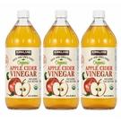 促銷到6月18日 C1219113 KS ORGANIC VINEGAR 科克蘭有機蘋果醋 946毫升X 3瓶
