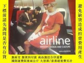 二手書博民逛書店Airline,罕見Identity, Design and C