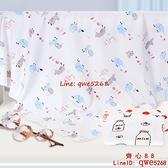 新生嬰兒包單薄款純棉包巾抱被初生兒產房裹布用品【齊心88】
