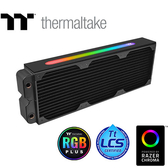 Thermaltake 曜越 Pacific CL360 Plus 全銅製 360mm 水冷排 CL-W231-CU00SW-A