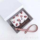 女士卡包 小草莓卡包卡夾 零錢包 可放駕駛證 配禮盒 LannaS