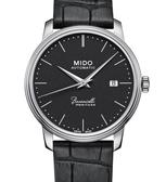 MIDO美度BARONCELLI永恆系列機械錶(M0274071605000)黑面/皮帶/39mm