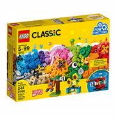 樂高積木LEGO《 LT10712 》2018 年Classic 經典基本顆粒系列 - 顆粒與齒輪╭★ JOYBUS玩具百貨